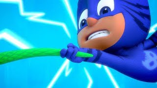 PJ Masks Full Episode Compilation | PJ Masks Blame it on the Train and More! | Cartoons for Kids