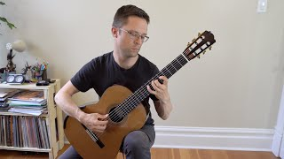 lesson: a major scales for classical guitar