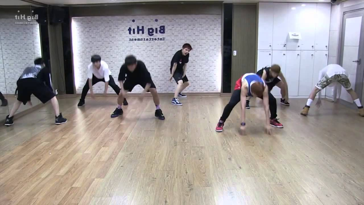 BTS-Danger slow mirrored dance practice - YouTube