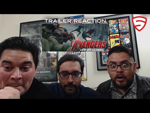 Marvel's Avengers: Age Of Ultron Trailer #3 Reaction!