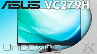 Asus VC279H Monitor Unboxing and Overview