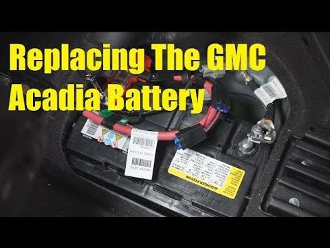 Gmc Acadia Battery Replacement The Battery Shop Youtube