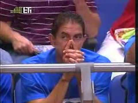 Greece VS Slovenia 63-62 Eurobasket 2007 last 2:39 minutes