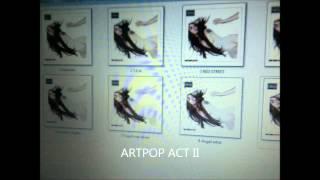 ARTPOP ACT II LAKED