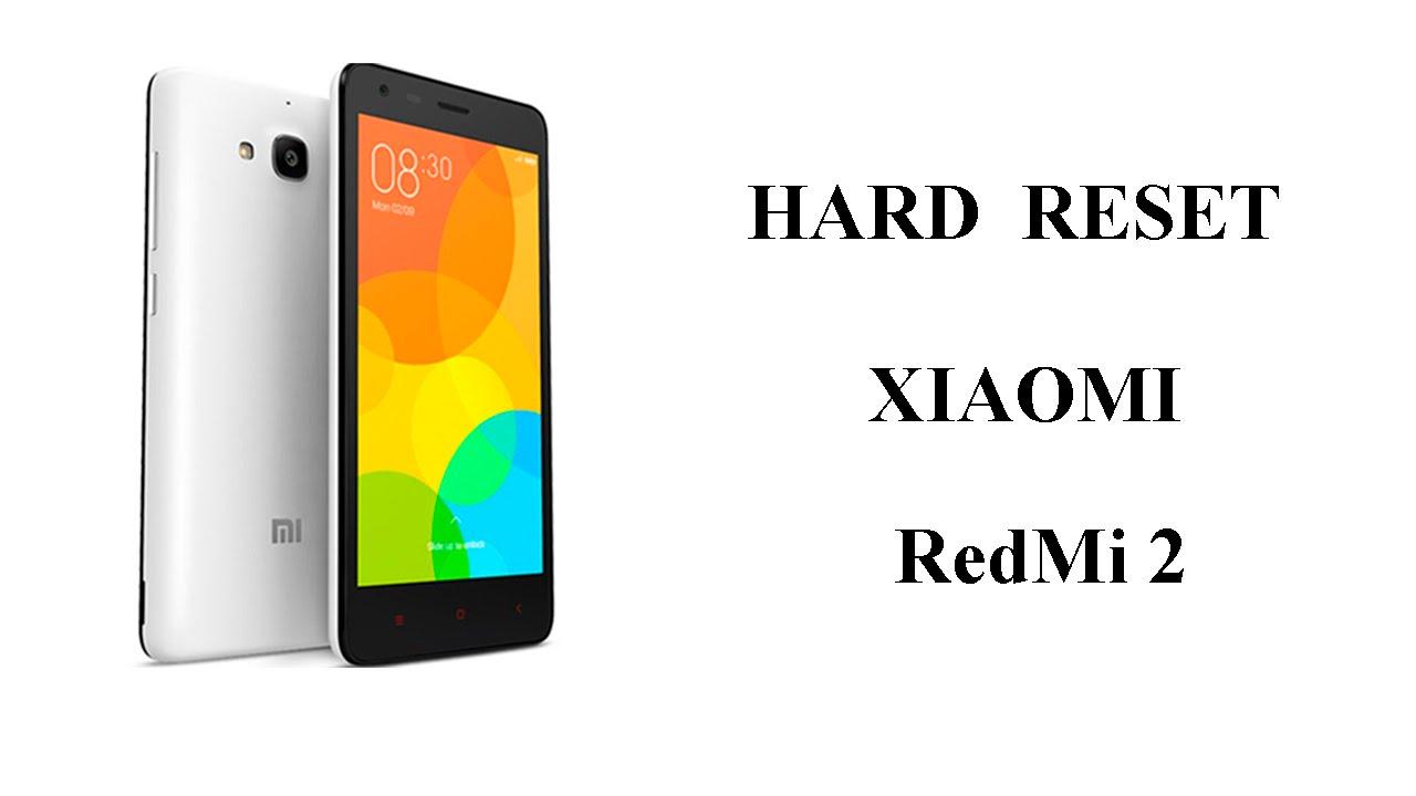 Xiaomi Redmi 4 Hard Reset - сброс на заводские настройки 91