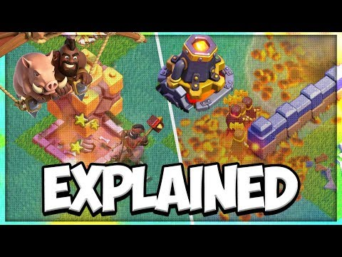 New BH 9 Hog Glider and Lava Launcher Explained | Builder Hall 9 Update | Clash