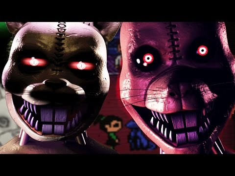 HUNTED BY NIGHTMARE RAT || Five Nights at Candy's 3 NIGHT 1 Gameplay (Five Nights at Freddys)