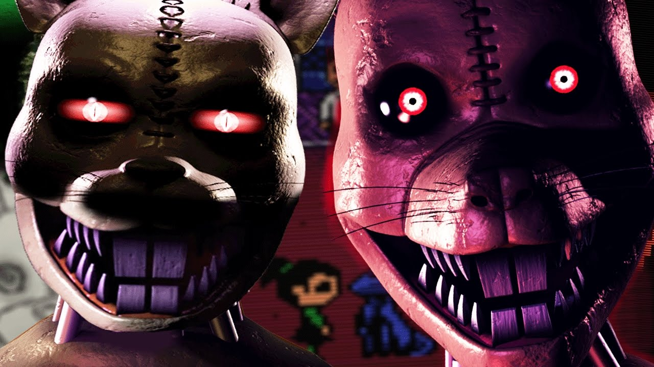 HUNTED BY NIGHTMARE RAT || Five Nights at Candy's 3 NIGHT ... | 1280 x 720 jpeg 134kB
