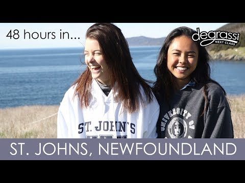 48 Hours in St. John's, Newfoundland!