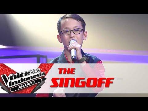 "Adi ""Kun Anta (Jadi Diri Sendiri)"" | Sing Off | The Voice Kids Indonesia Season 2 GTV 2017"
