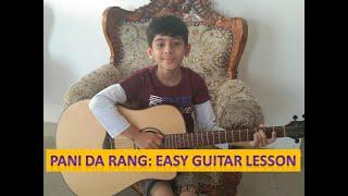 Pani da Rang -  Easy Guitar Lesson  - Vicky Donor - Ayushmann Khurrana