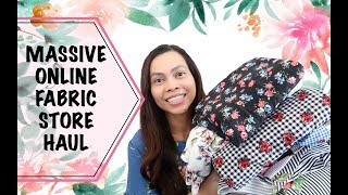 GORGEOUS AND HIGH QUALITY FABRICS FOR MY FUTURE SEWING TUTORIALS | SEW ALDO