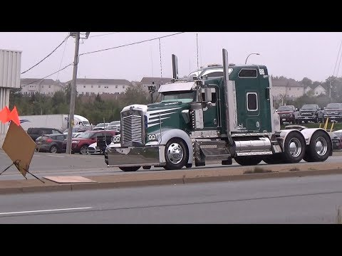 Worlds Largest truck convoy for special olympics 2017  (200) TRUCKS!
