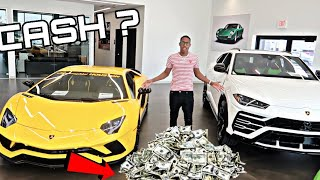 Picking out the Lamborghini !!
