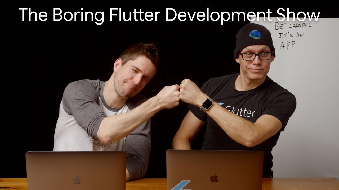 Adding a custom navigation bar to DashCast Part 2 (The Boring Flutter Development Show, Ep. 36)