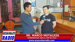 ENTREVISTA EMPRENDEDOR,SR MARCO MONTALEZA