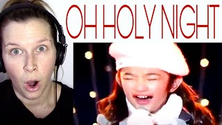 ANGELICA HALE - OH HOLY NIGHT | REACTION