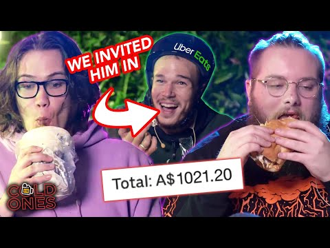 $1000 UBER EATS MUKBANG (ft. Delivery Guy)