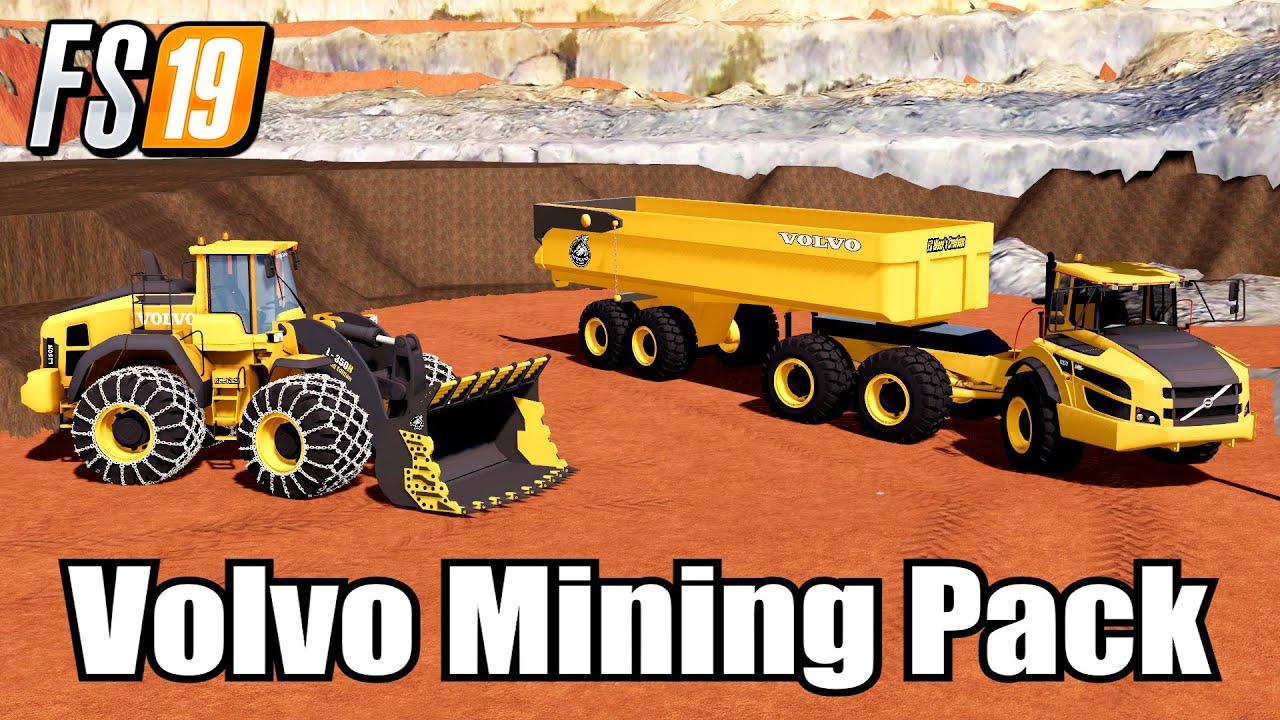 New Volvo Mods Farming Simulator 2019  Public Works TP Mining