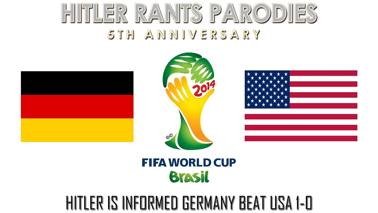 Hitler is informed Germany beat USA 1-0