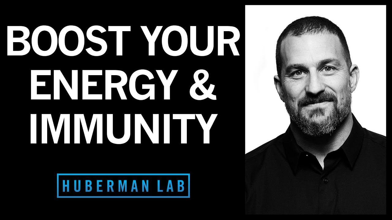 Using Cortisol & Adrenaline to Boost Our Energy & Immune System Function | Huberman Lab Podcast #18