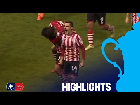 Lincoln City 3-2 Northampton Town | | Round 1 | Emirates FA Cup 2018/19