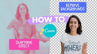 Remove Background & Duoтone Apps in Canva