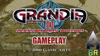Grandia II Anniversary Edition - Intro + First hour of Gameplay - PC - STEAM