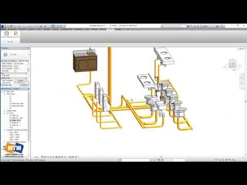 Automatic generation of Isometric and Spool in Revit_ Plumbing Piping