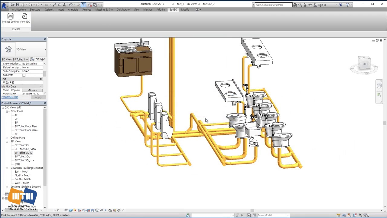 Automatic generation of Isometric and Spool in Revit Plumbing – Plumbing Lesson Plans