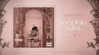 Natti Natasha - No Quiero Saber [Official Audio]