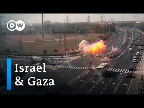 Rockets fired at Israel, while Gaza hit by airstrikes | DW N