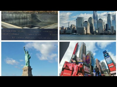 New York Top 10 Attractions for Winter, Manhattan Island, Empire State, Times Square, Central Park