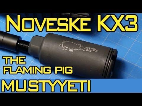 Noveske KX3 Flash Suppressor :: AR Pistol Build pt 5 :: Musty Yeti