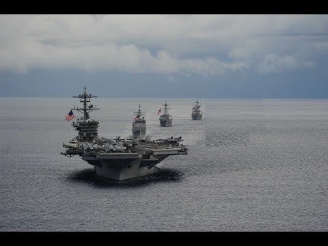 Unprecedented! 3 Aircraft Carrier Strike Groups in SHOCK Nor