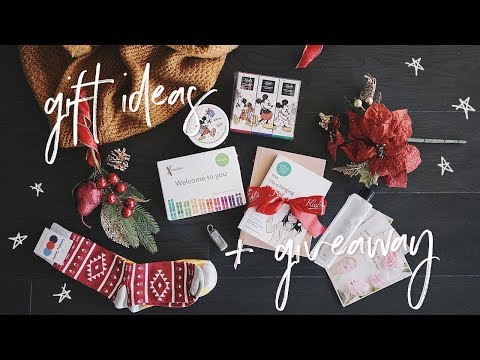 Holiday Gift Ideas (Minimalist & Unique) + GIVEAWAY
