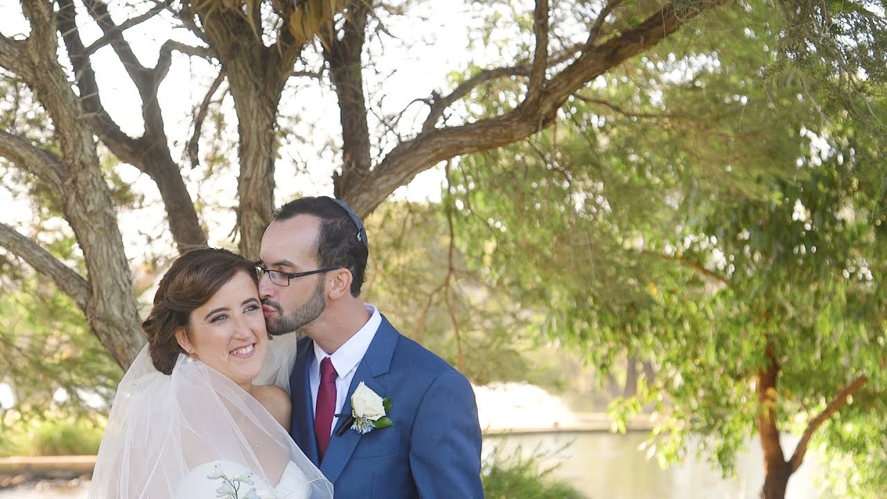 laura amp tims perth jewish wedding highlights ambrose