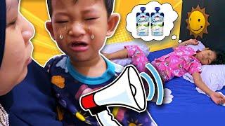 Morning Routine Keluarga Sehat Hana Callista ft Cimory Squeeze - Kakak Sayang Adik