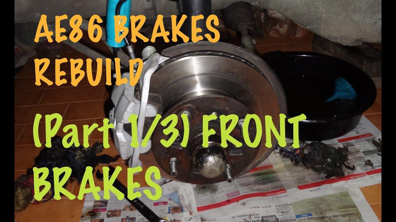 how to rebuild the toyota corolla ae86 s brake system all around rh forums mightycarmods com Brake Pedal Brake Caliper