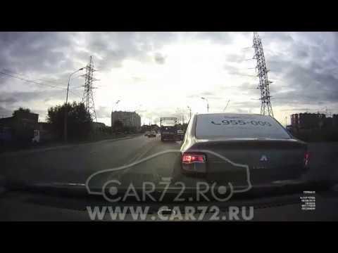 ДТП 08.08.19 Яндекс-такси не глядя в зеркала сдает задним ходом
