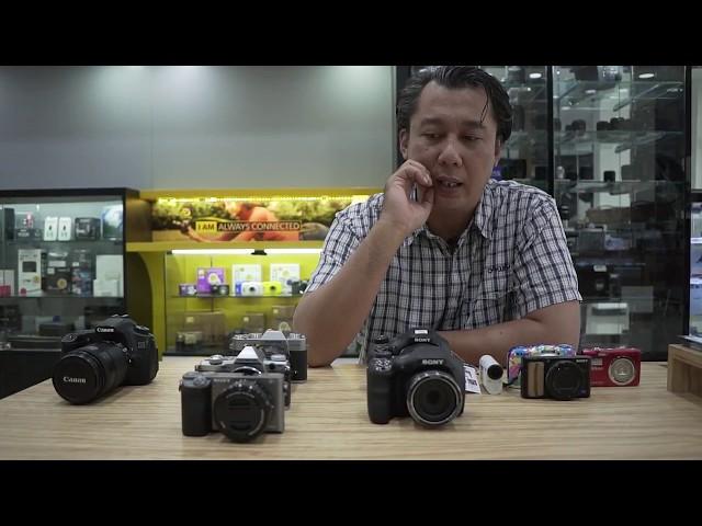 Belajar Foto - Dasar Fotografi - Tipe, Jenis, dan Kategori Kamera Digital