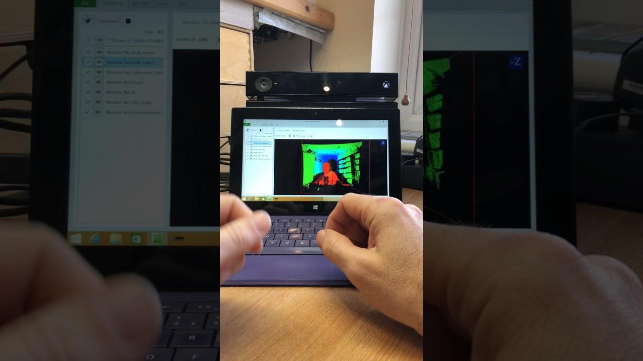 Building a Kinect V2 SLS STICKMAN setup for ghost hunting