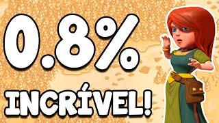 Clash Of Clans | NÃO ACREDITEI! 0.8% DE DIFERENÇA DEFINIU A GUERRA DE CLÃS! INCRÍVEL!