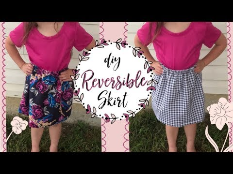 DIY Reversible Skirt | Create any size you need + exciting news