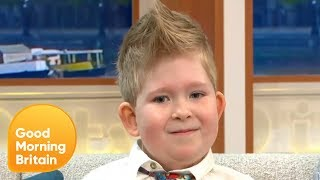 Six-Year-Old Defies Odds After Born With Less Than 2% of His Brain | Good Morning Britain