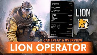➤ LION GAMEPLAY & OVERVIEW! - Rainbow Six Siege (New R6S Chimera & Outbreak Attacking Operators)