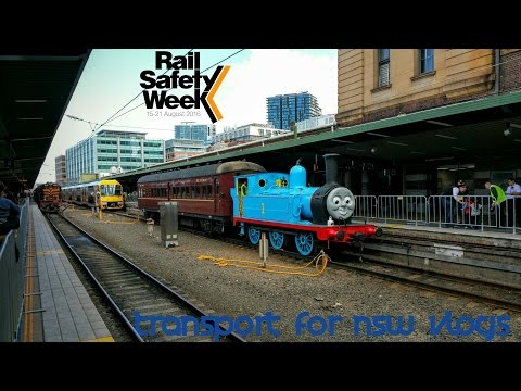 Transport for NSW Vlog No.1036 Rail Safety Week