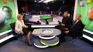 Snooker-O'Sullivan's 147 Break in 5 min.20 sec.