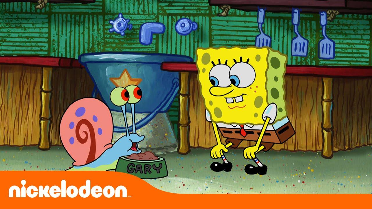 Bob Esponja Comida De Caracol Caseira Nickelodeon Em Portugues