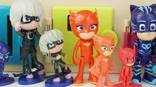 PJ Masks Mainan dan lagu anak anak  الانجليزية ا�...